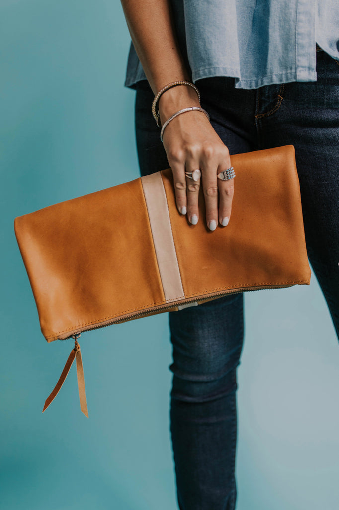 Foldover Clutch Bag | ROOLEE