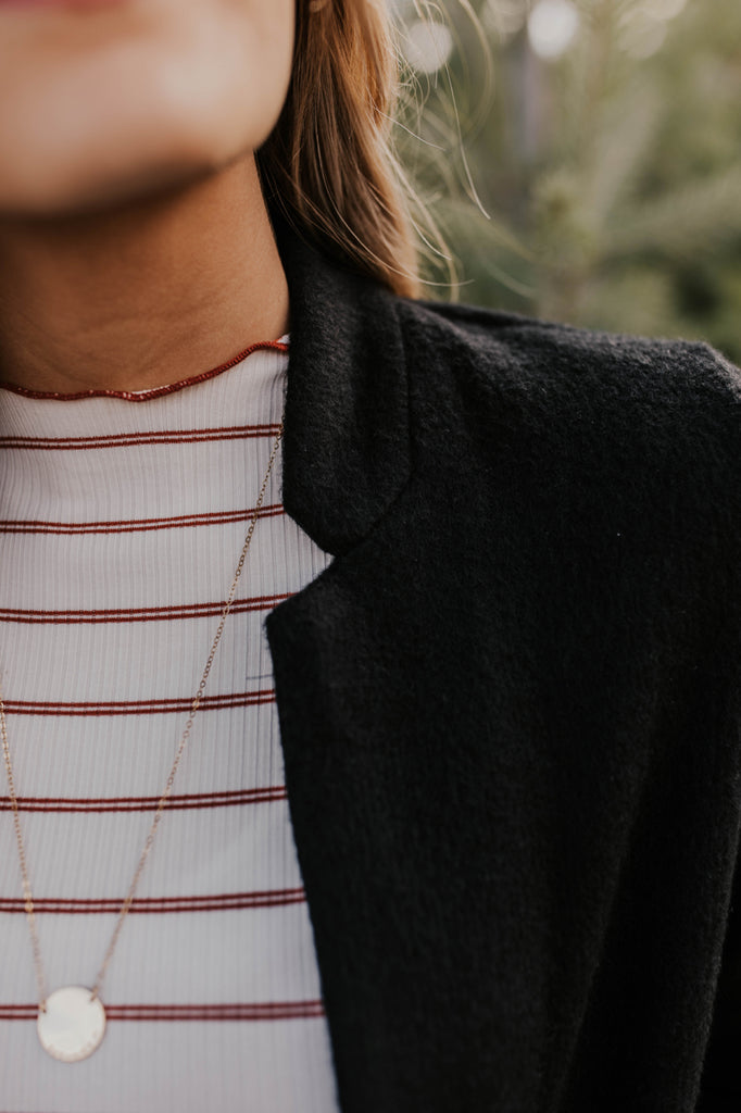 Notched Collar Jacket | ROOLEE