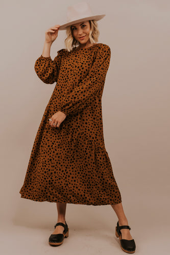 Cheetah Print Dress | ROOLEE