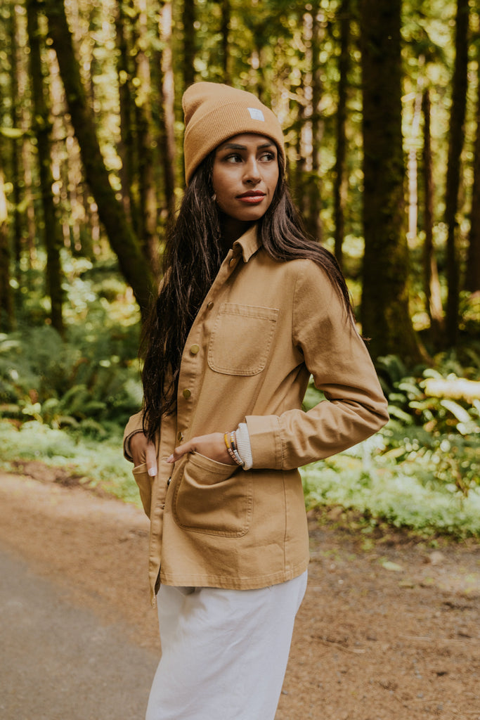 Brown lightweight jacket | ROOLEE