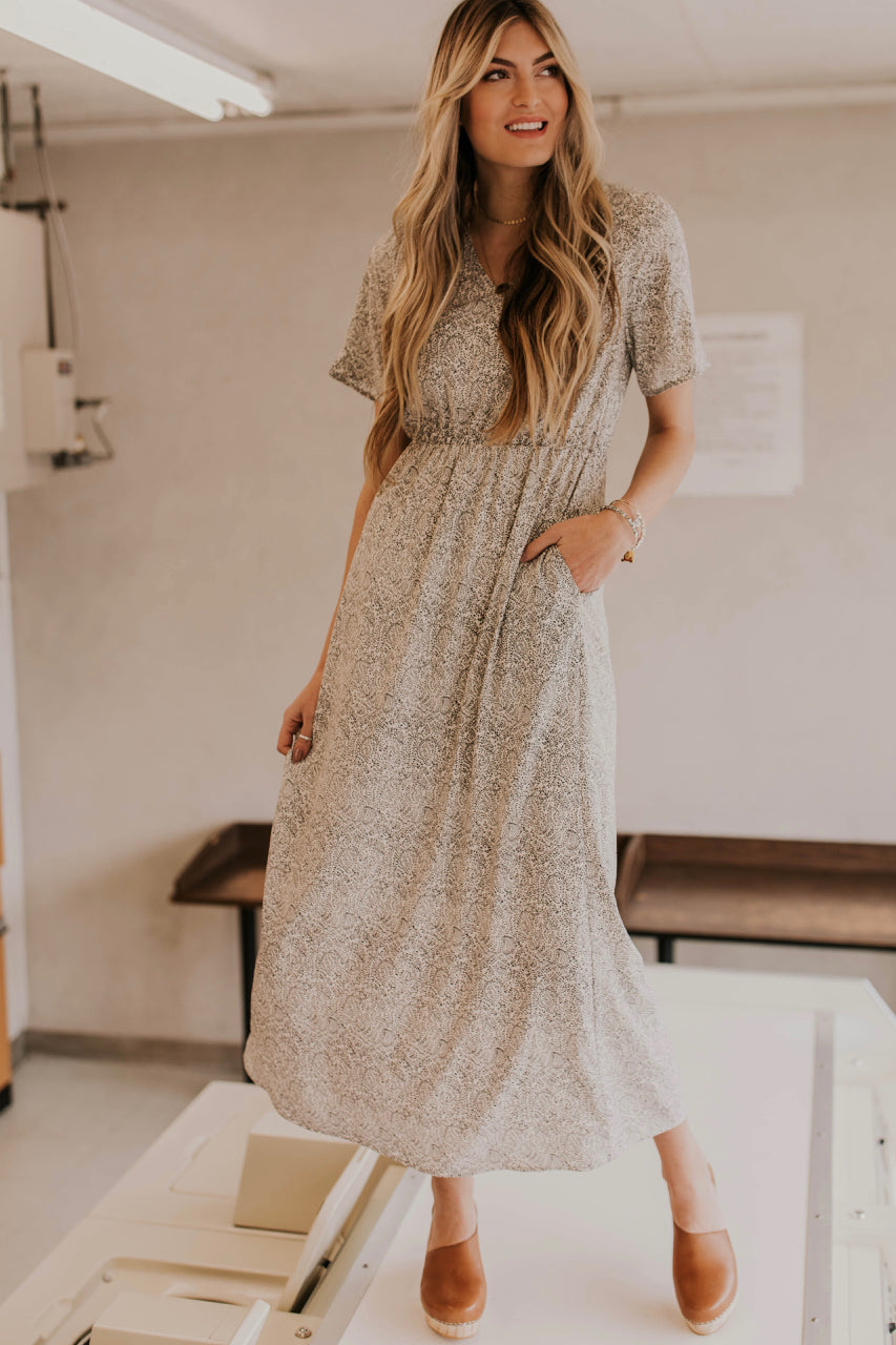57ba76ac7903 Paisley Maxi Dress - Modest Dresses | ROOLEE