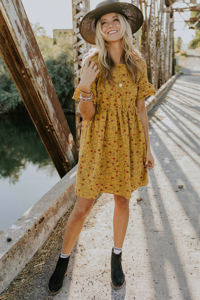 Floral Dress Outfit | ROOLEE
