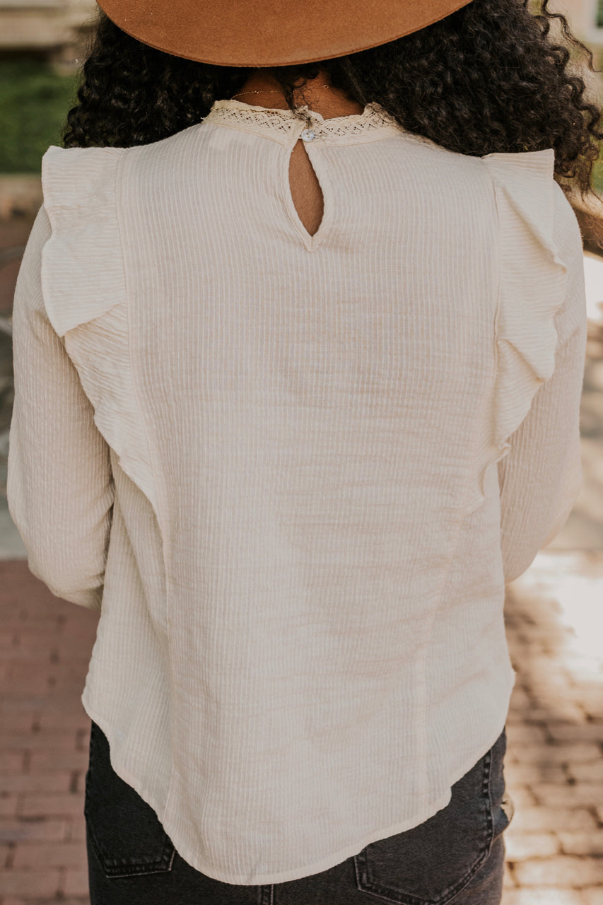 Ruffle Sleeve Long Sleeve | ROOLEE