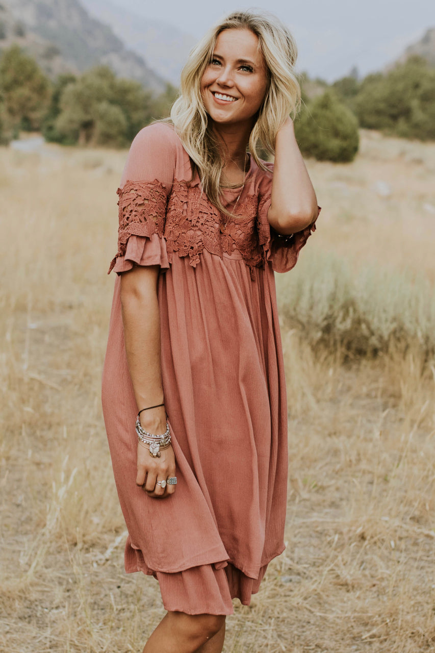 Fitzgerald Lace Dress | ROOLEE