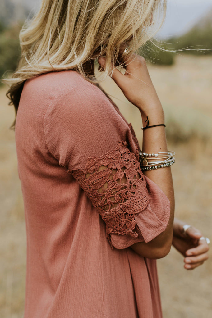 Intricate Lace Sleeves | ROOLEE