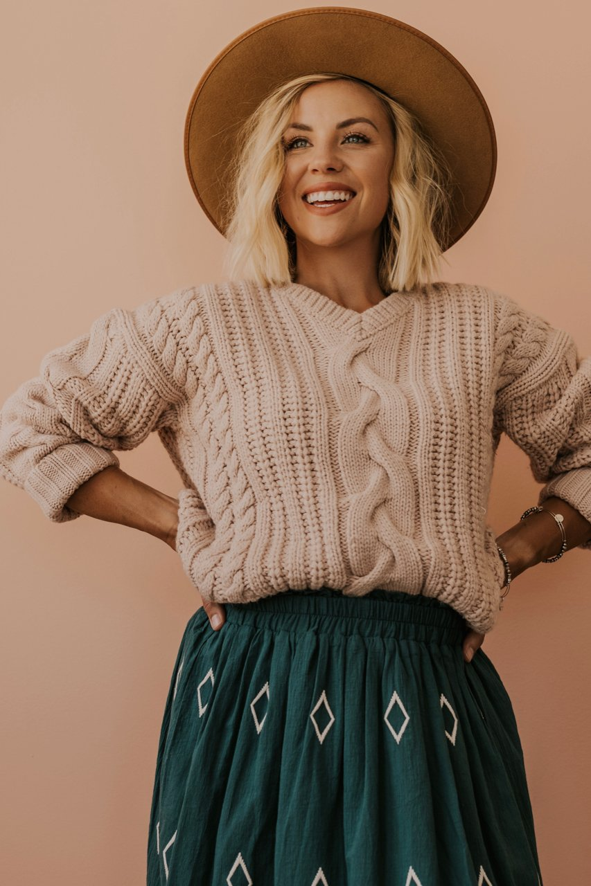 Chunky Sweater for Fall | ROOLEE