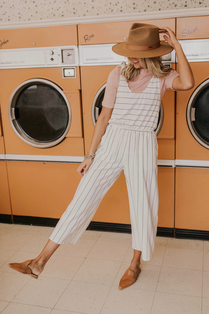 Comfy Striped Jumpsuit | ROOLEE Jumpsuits
