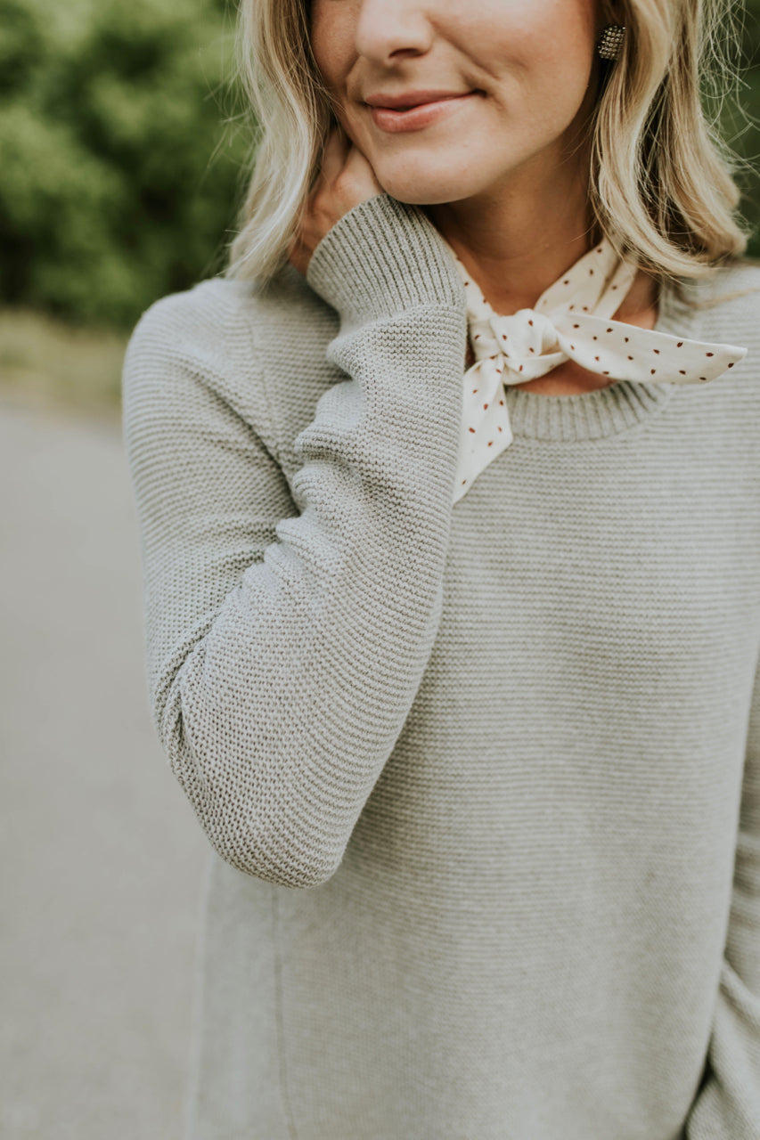 Long Sleeve Knit Sweater | ROOLEE