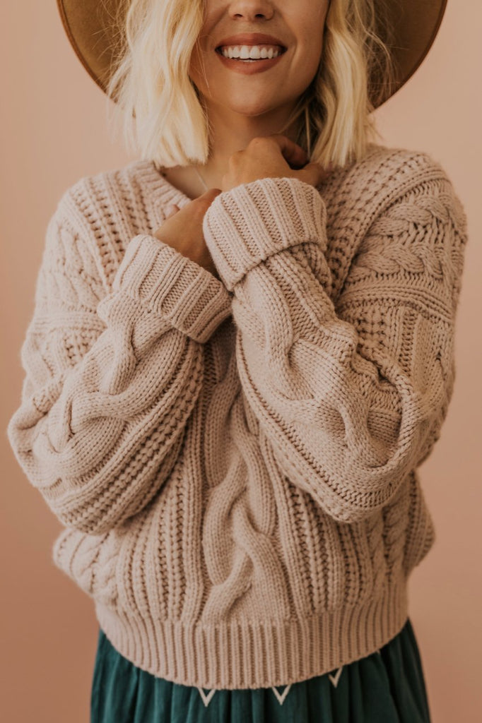 Chunky Cropped Sweater | ROOLEE