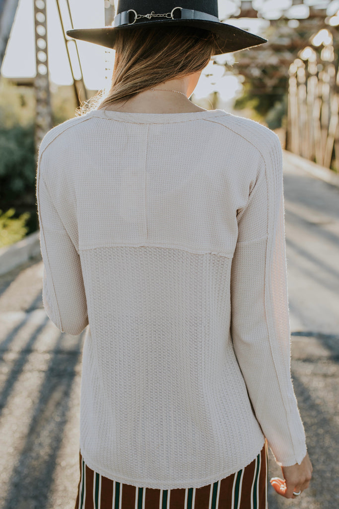 Long Sleeve Knit Top | ROOLEE