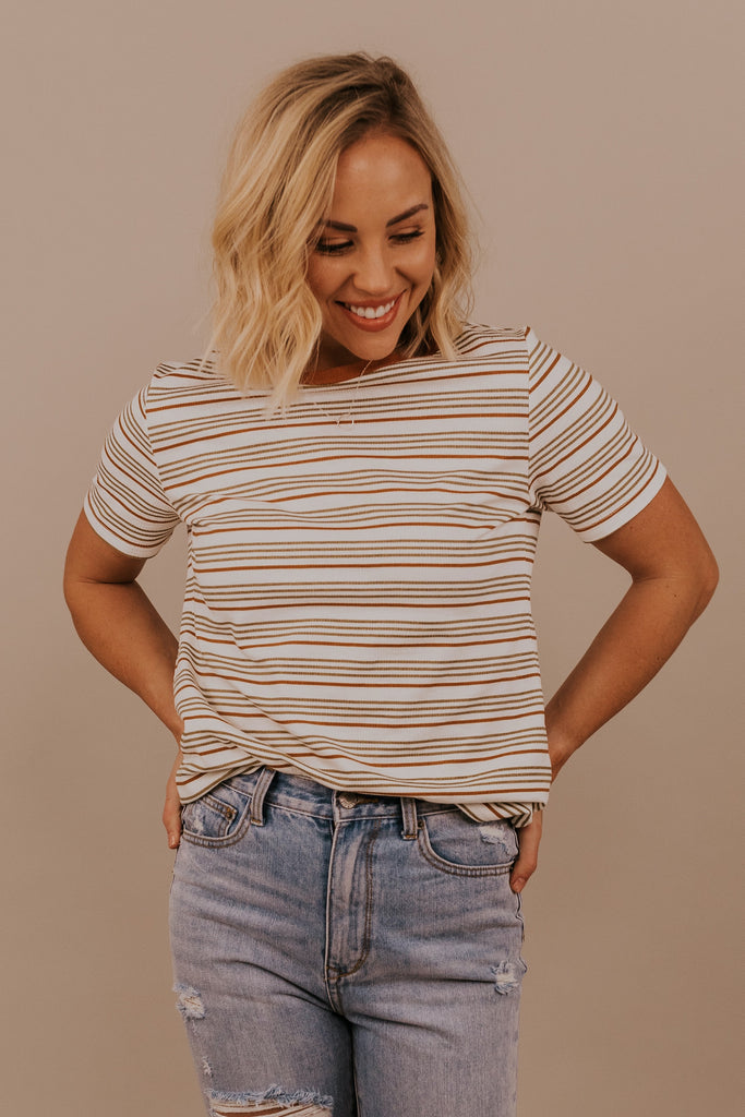 Stripe Tees for Summer | ROOLEE