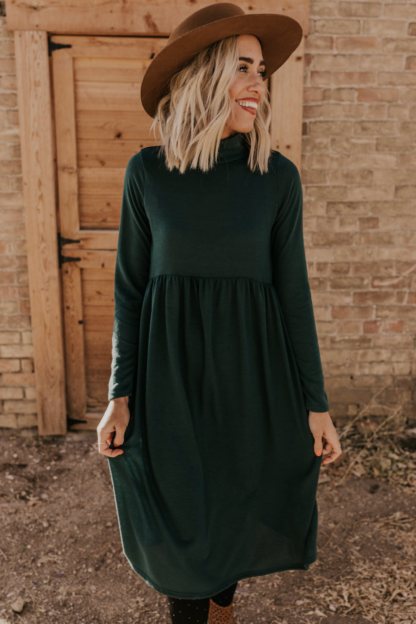 Dark Green Christmas Dresses | ROOLEE