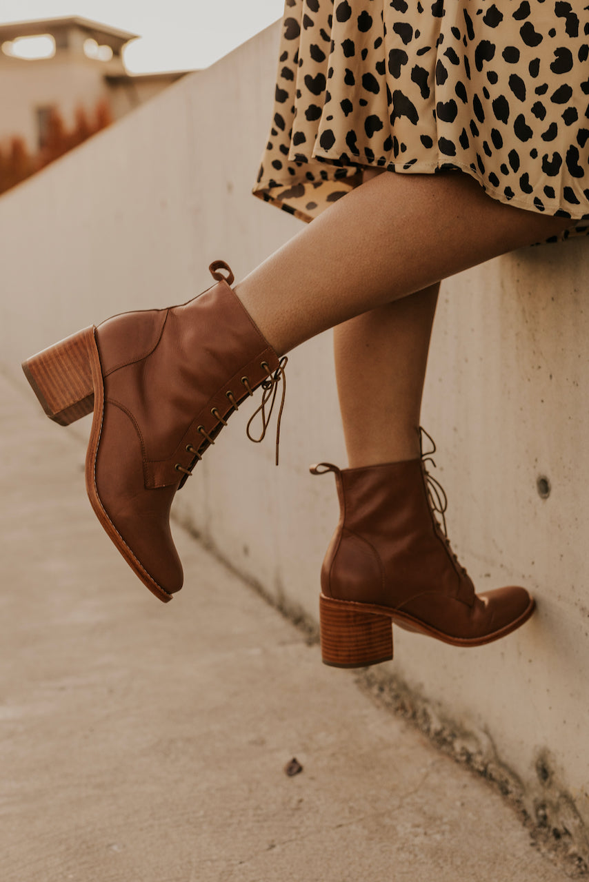 Chucky Heeled Booties | ROOLEE