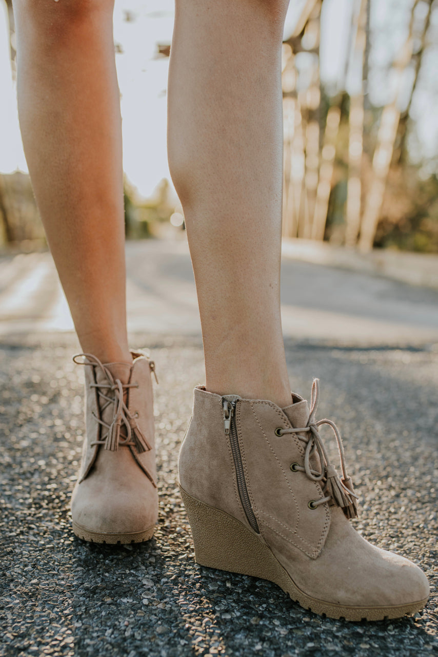 Teagan Lace Up Bootie | ROOLEE
