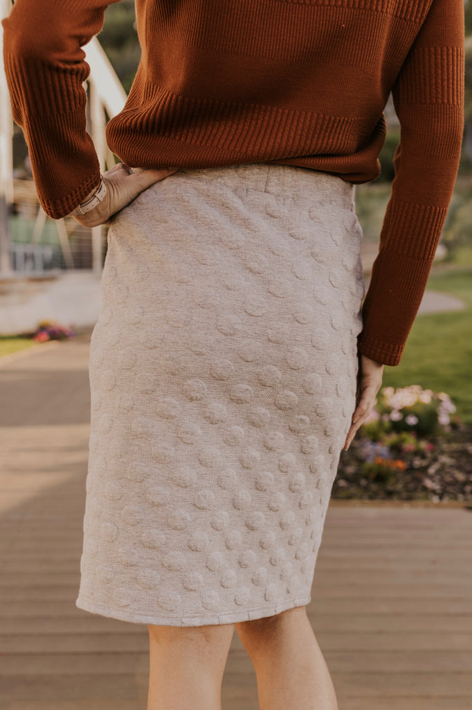 Knit Pencil Skirt | ROOLEE