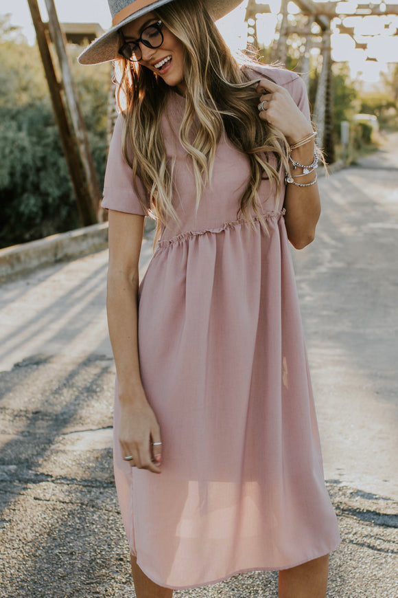 Haley Detail Dress | ROOLEE