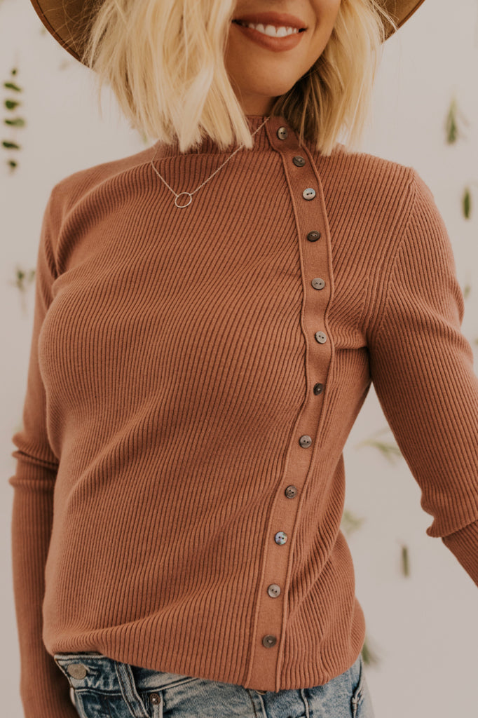 Fall Button Up Top for Women | ROOLEE