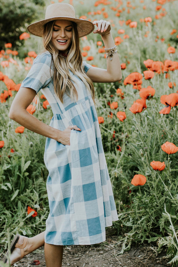 Wendy Sue Plaid Dress