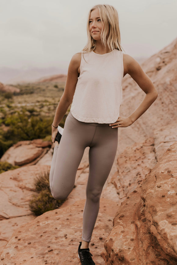 Activewear Tank Top Outfit Inspo | ROOLEE