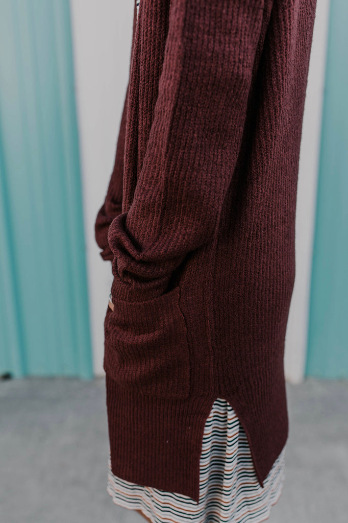 Knit Cardigan with Pockets | ROOLEE