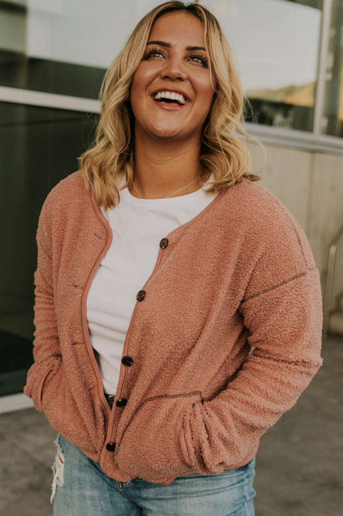 Leliah Button Cardigan
