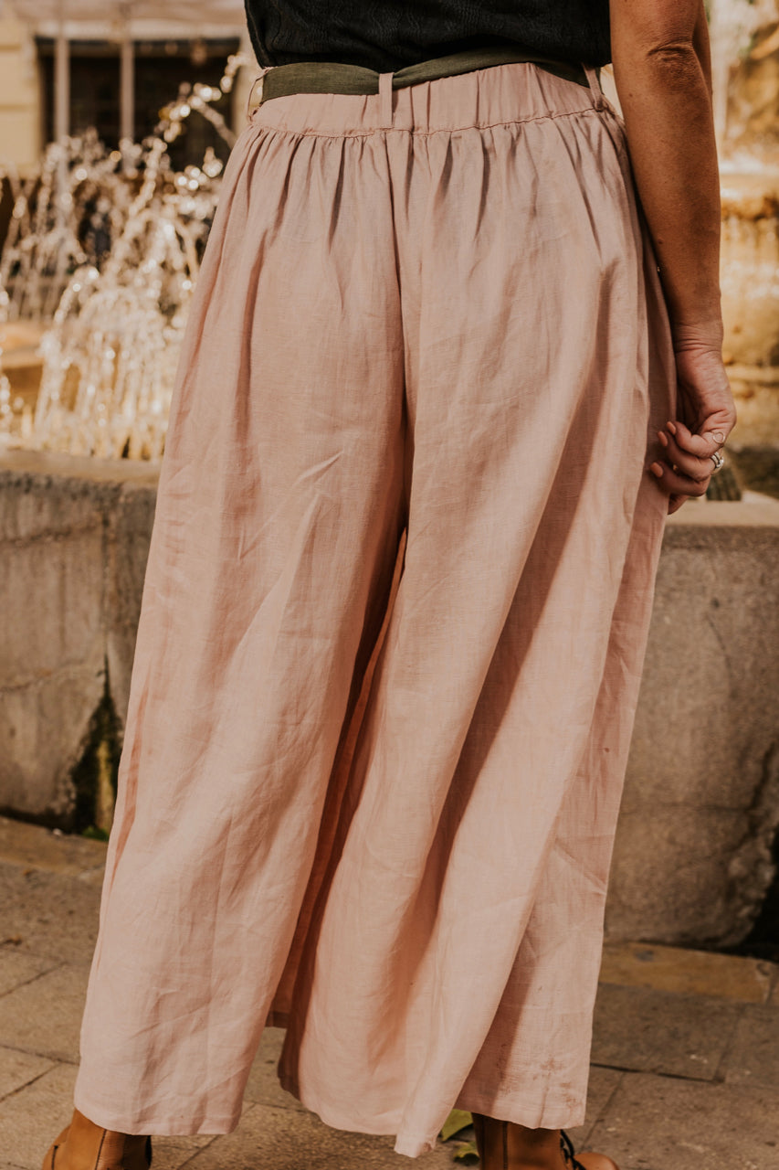 Blush Colored Pants | ROOLEE