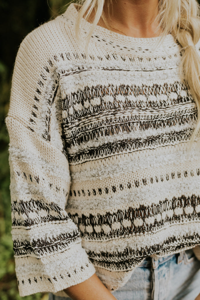 Loose knit sweater | ROOLEE