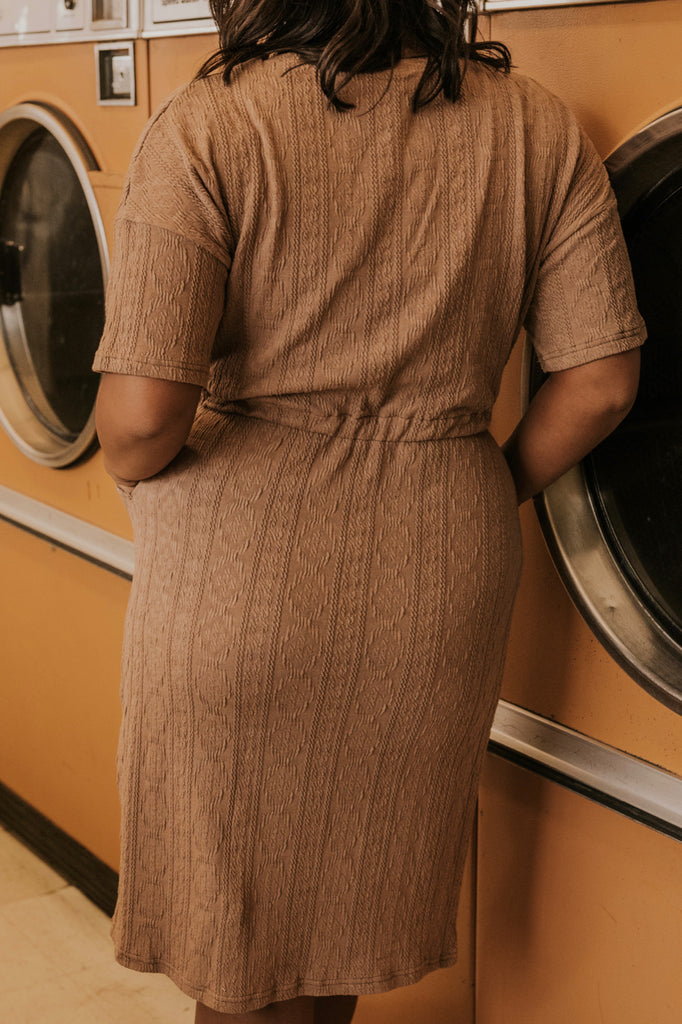 Mocha Midi Dress | ROOLEE