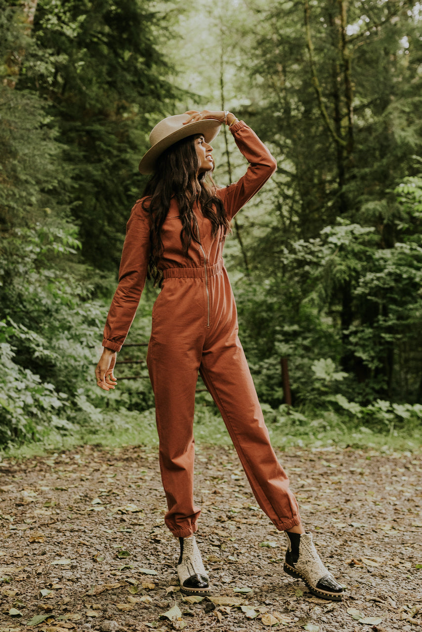 Houston Zip Jumpsuit | ROOLEE
