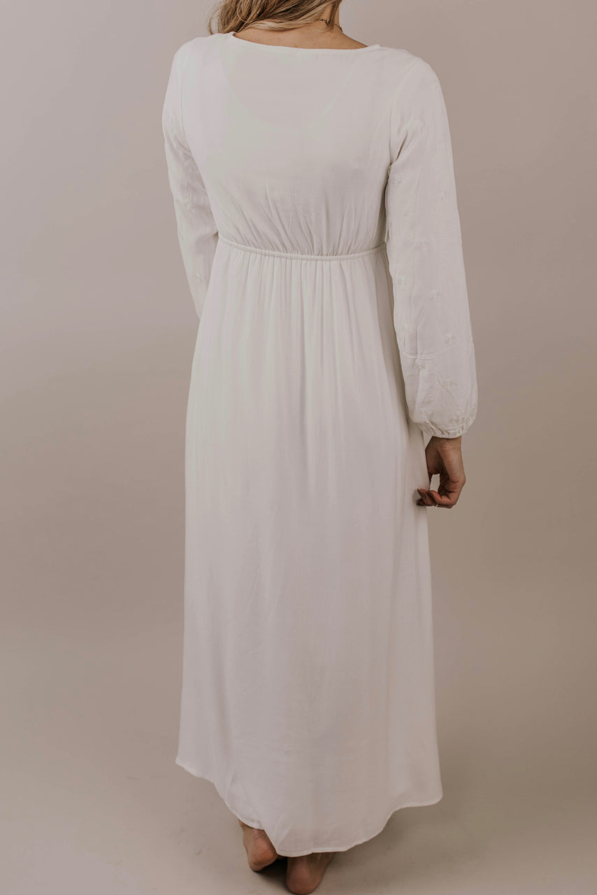 Pure White Dress | ROOLEE