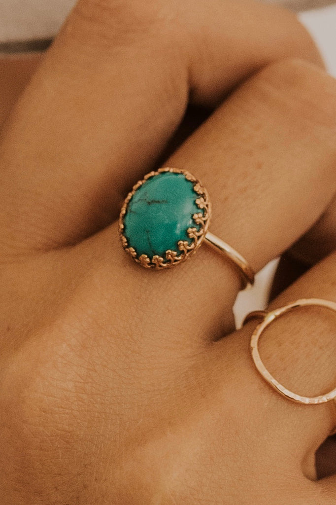 Turquoise Rings | ROOLEE