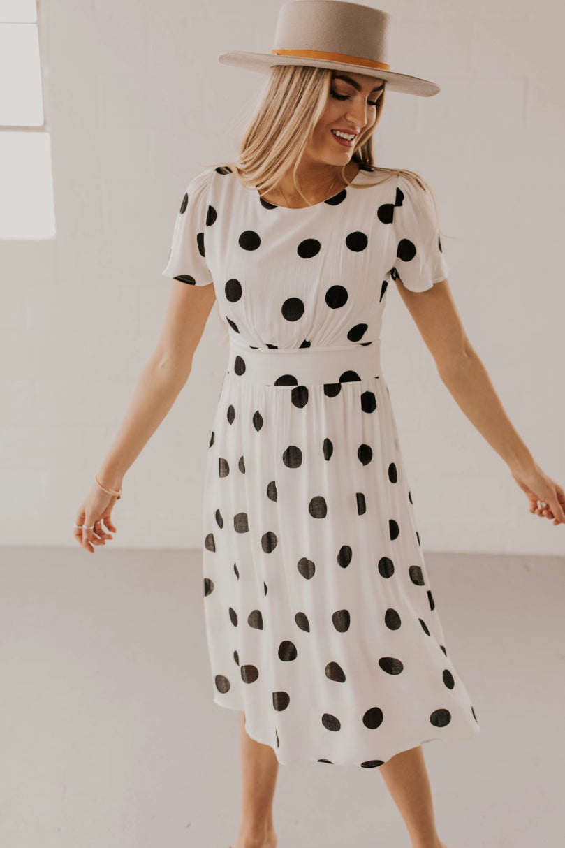 Black and White Dress | ROOLEE