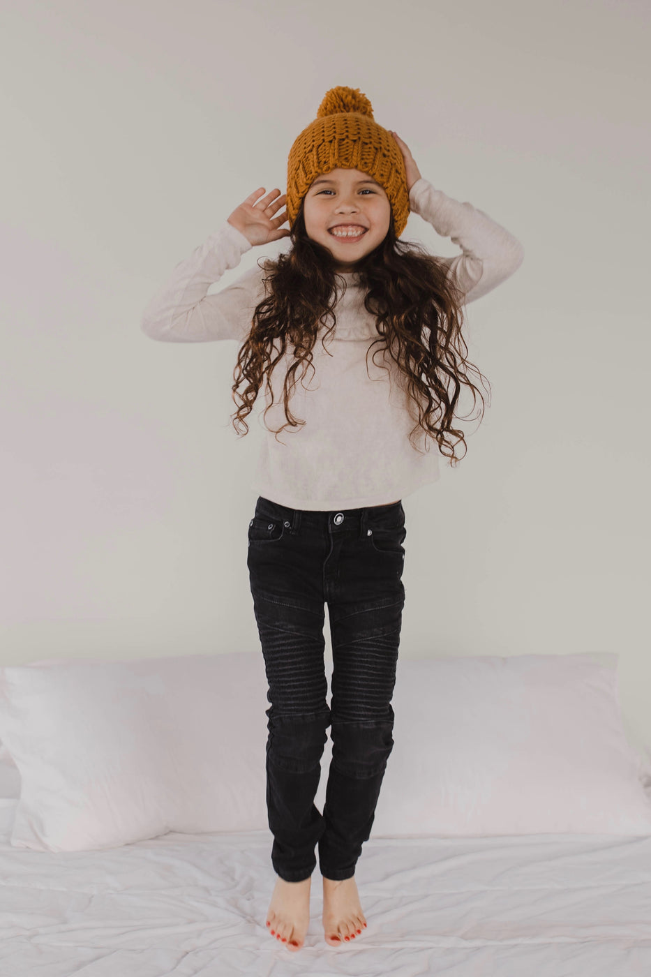 Long Sleeve Ruffle Top Kids Outfit | ROOLEE Kids