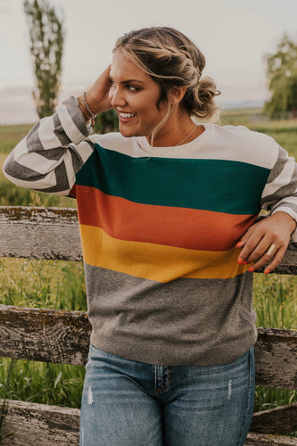 Payton Stripe Sweater
