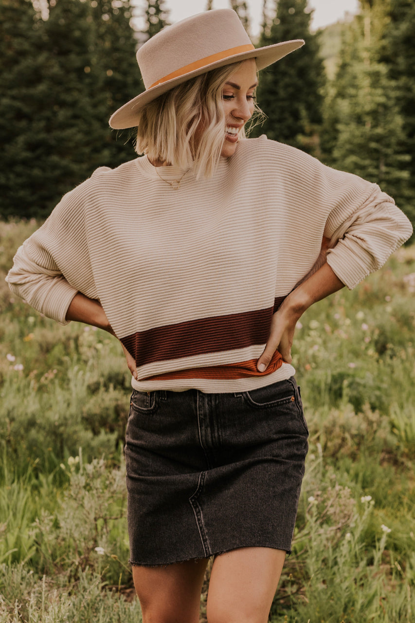 Batwing Sleeve Sweater | ROOLEE