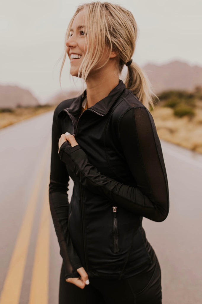 Activewear Jacket for Women | ROOLEE