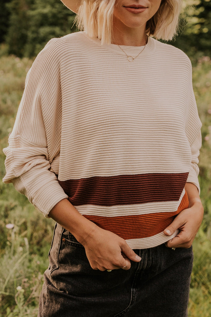 Stripe Sweater | ROOLEE