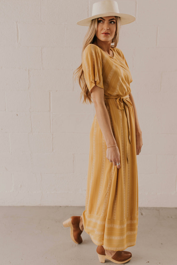 Yellow Maxi Outfit | ROOLEE