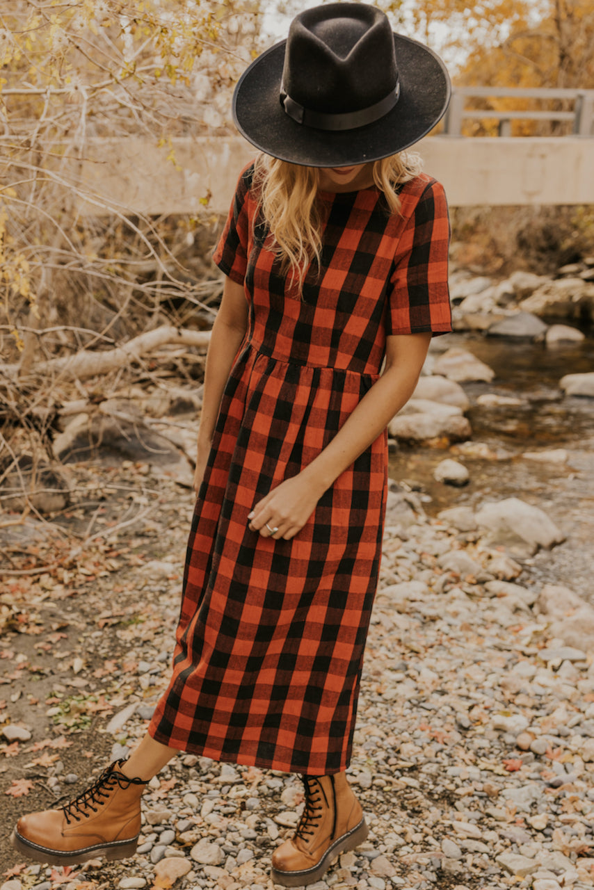 Livingood Plaid Midi
