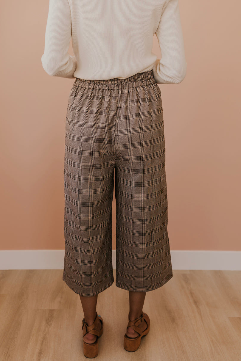 Cropped Plaid Pants | ROOLEE