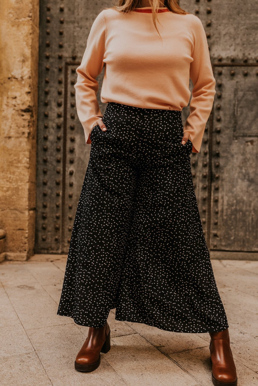 Cute Trendy Wide Leg Pants | ROOLEE