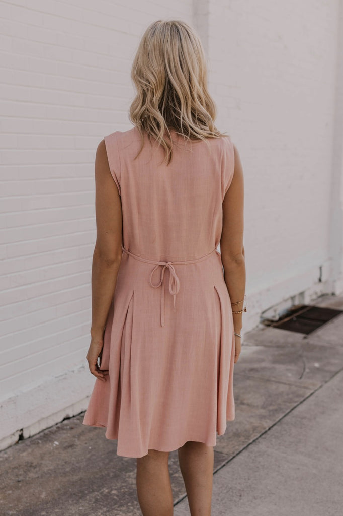 Pink Spring Dress | ROOLEE