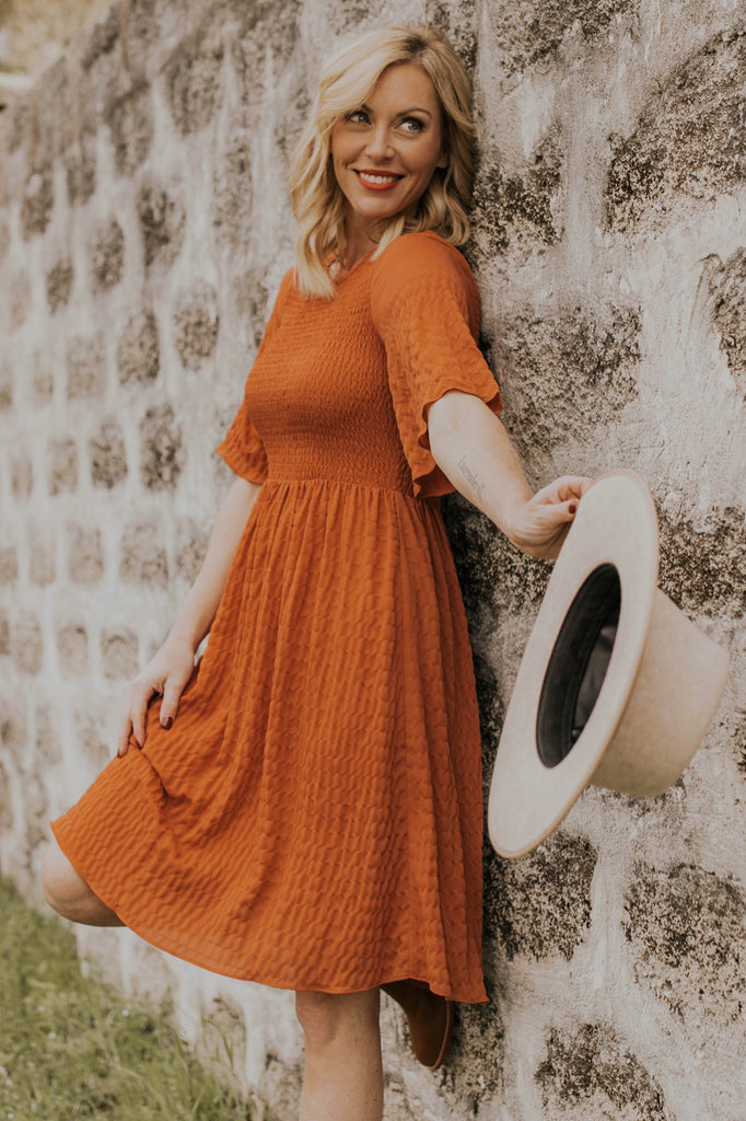 Rouched Flowy Dress | ROOLEE