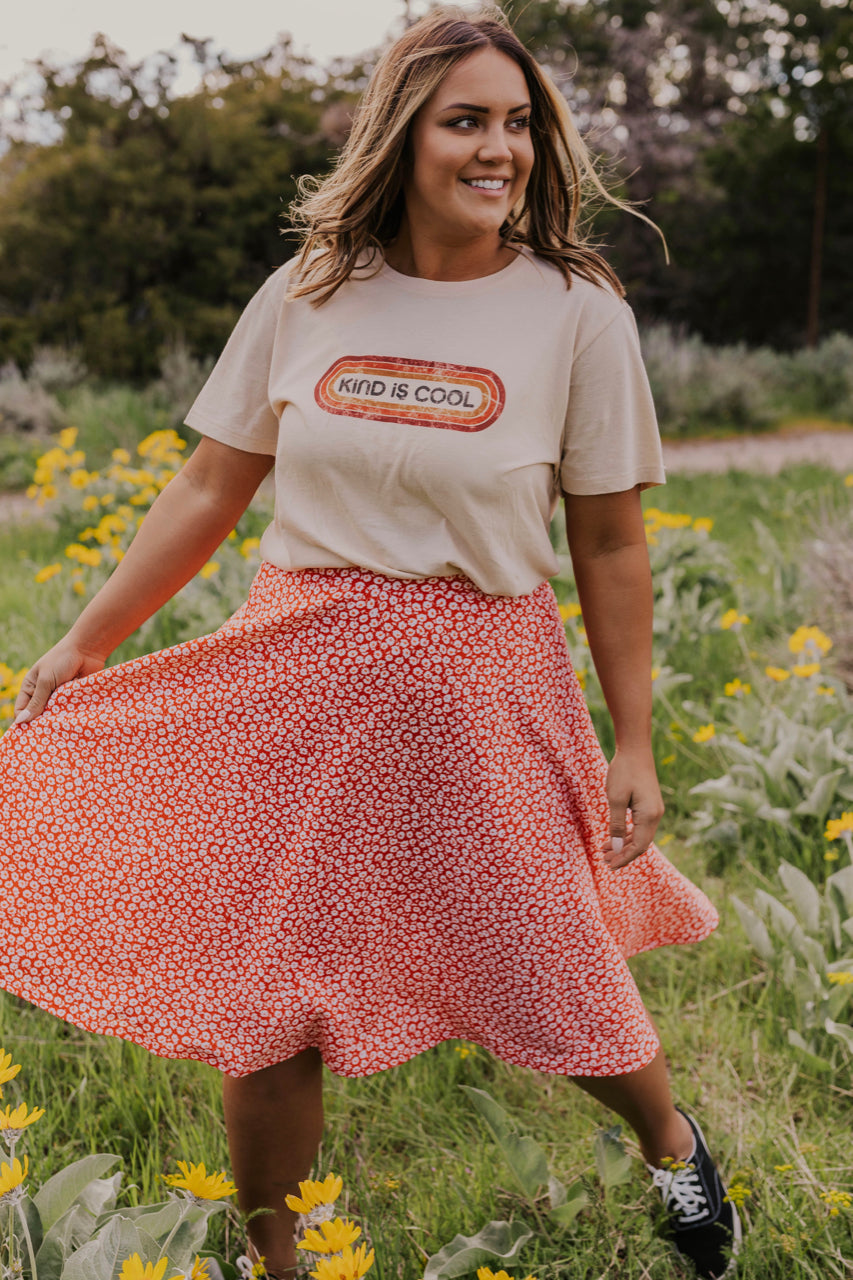 Floral Circle Skirt | ROOLEE