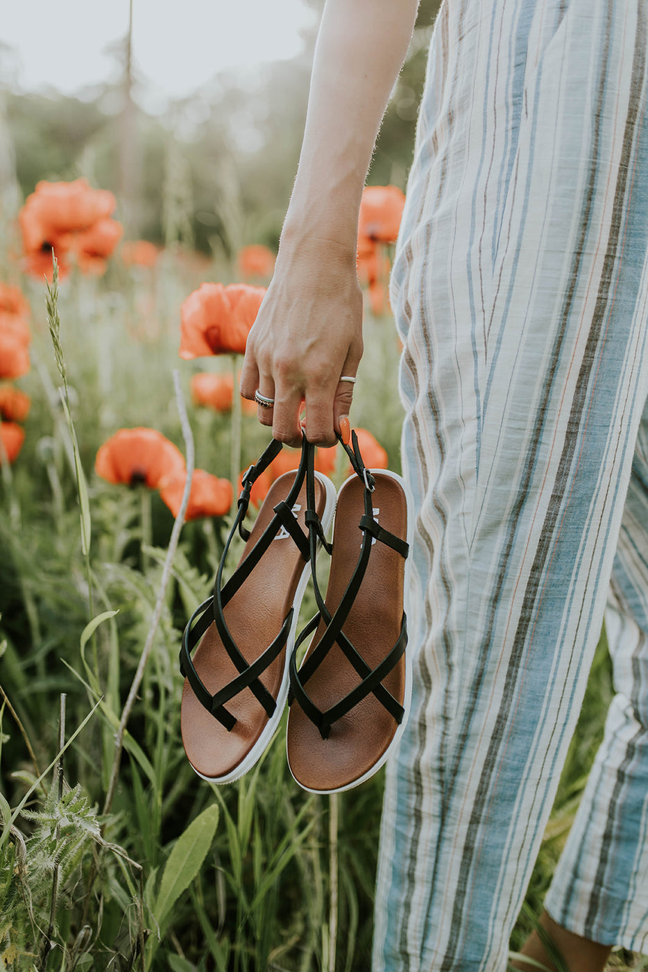 Right as Rain Platform Sandals | ROOLEE