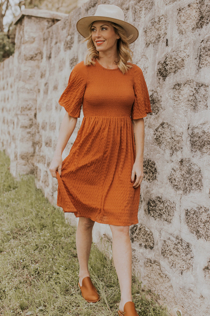 Rouched Dress Outfit Ideas | ROOLEE