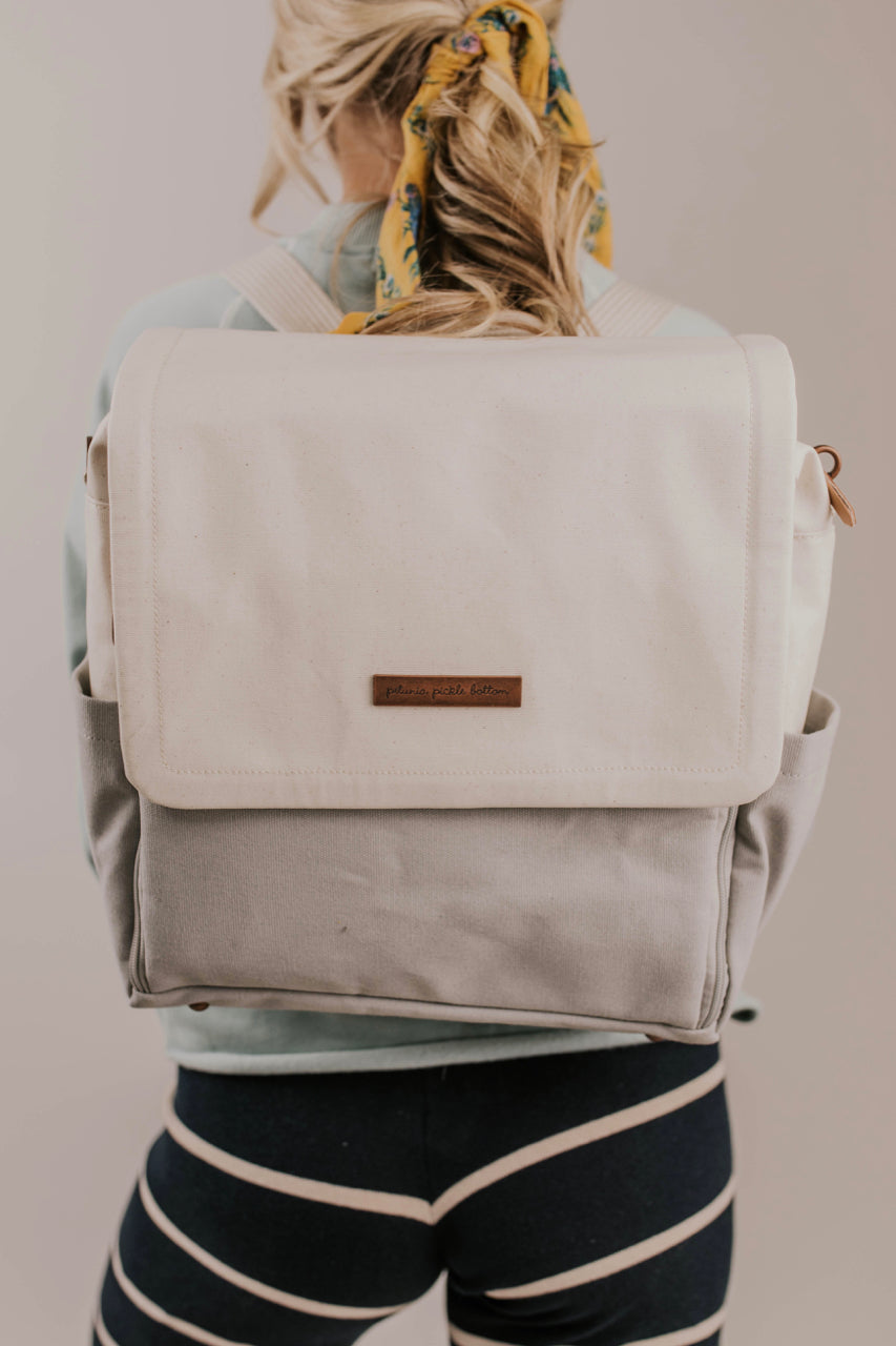 Boxy Diaper Bag Backpack | ROOLEE