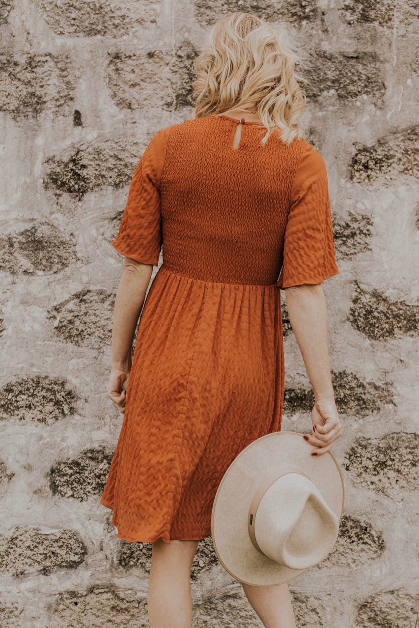 Flowy Dress Outfit Idea | ROOLEE