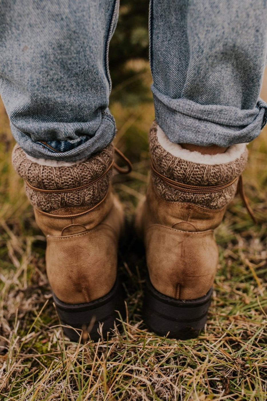 Man Made Leather Boots | ROOLEE