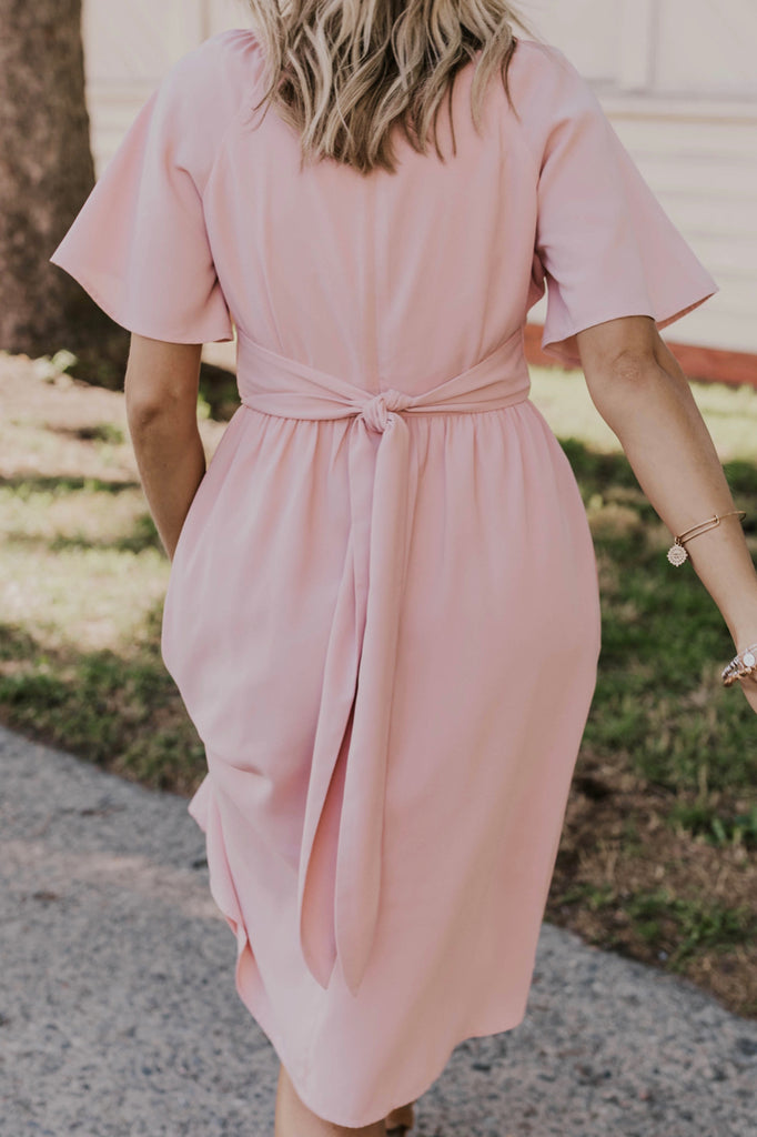 Pink Bridesmaid Dress | ROOLEE